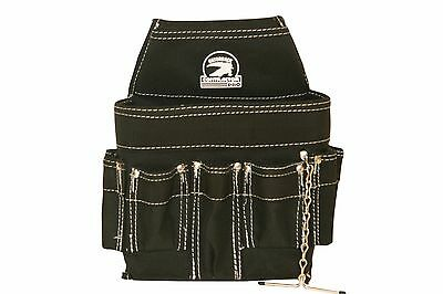 Gatorback B201 Electricians Pouch Tool Belt Ready W  18 Pockets And Tape Chain