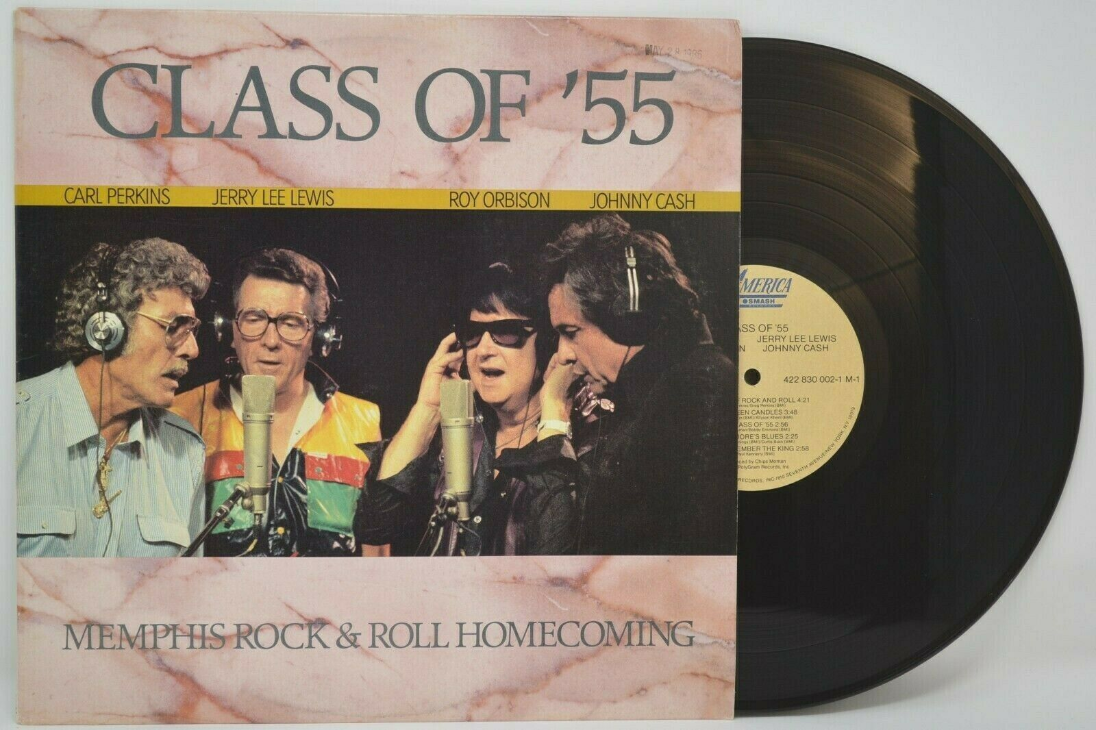 Class of '55 Memphis Rock & Roll Homecoming - vinyl record LP NM M-