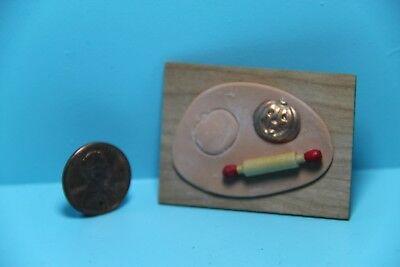 Dollhouse Miniature Making Halloween Pumpkin Cookies ~ SC512 (Make Halloween Cookies)