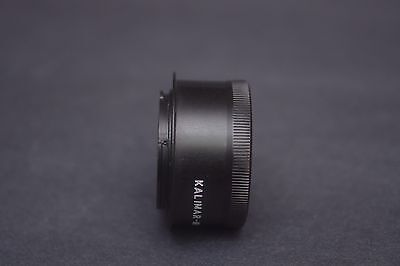 Kalimar 66 Medium Format Lens  onto Canon EOS Camera mount Adapter Canon Medium Format