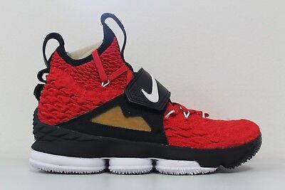 05a1fca44810c Nike Mens Lebron XV Prime Red Diamond Turf DS AO9144-600 Size 9