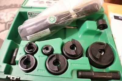 Greenlee 7806sb Quick Draw Hydraulic Knockout Punch Set Slugbuster 12 Thru 2