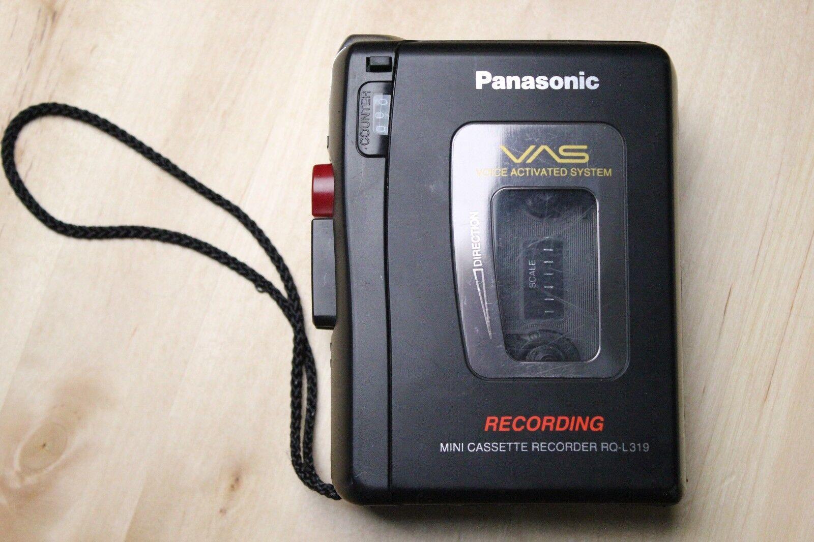 Panasonic Cassette Recorder RQ-L319 VAS Voice Activated System