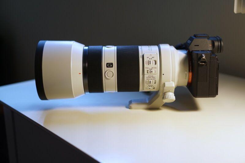 Sony FE 70-200mm F4 G OSS Full-frame E-mount Lens (camera not included)
