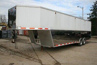 2007 Ss Welding Gooseneck 32 Enclosed Trailer Heavy Duty Stainless W Ramp