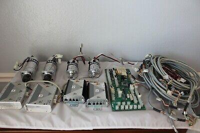 4 Axis Servo Motor Drive System Components - Cnc Motorsdriverscables