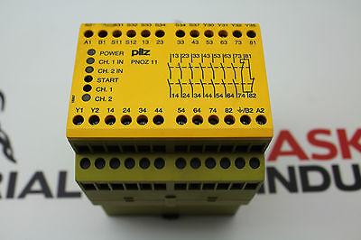 Pilz Pnoz 11 Safety Relay No. 774085