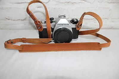 Echt Leder Alte Kamera Tragegurt Trageriemen Leather Camera Strap Canon  #223