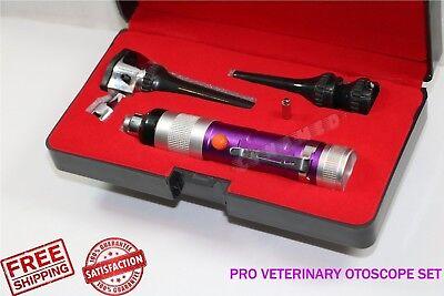 Pro Veterinary Otoscope Mini For Animal Diagnostic Examination High Grade