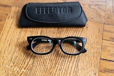 Authentic EFFECTOR FUZZ-S Hand Made in Japan Acetate Frame Eyewear & Case (Handmade Eyewear)
