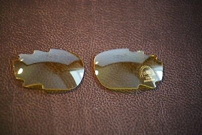 PolarLenz Polarized Yellow Replacement Lens for-Oakley Jawbone / Racing Jacket