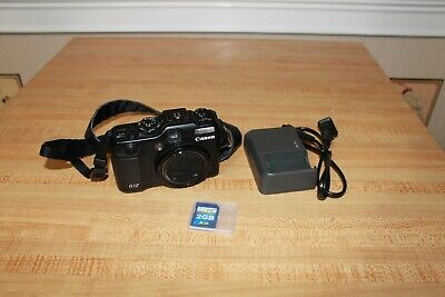Canon PowerShot G12 10.0MP Digital Camera with extras
