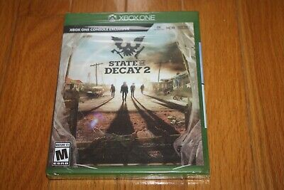 Brand New Sealed Xbox One State of Decay 2 SHIP FREE US FAST