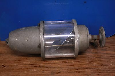 Vintage Federal Signal Corporation Beacon Ray Red Rotating Light Model 27s