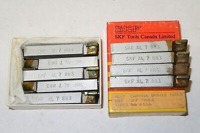 14 Pcs Skf Dormer Al-7 Al7 Grade 883 Carbide Brazed Tool Bits Made In Usa
