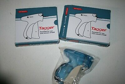 Lot Of 2 Amram Flacon Tagger Standard Tag Attaching Tagging Gun Used With 700r