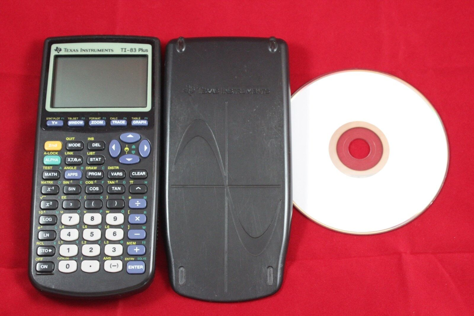 Texas Instruments TI-83 Plus Graphing Calculator Super Quick & Free Shipping