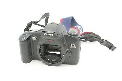 Canon Rebel EOS G 35mm Film Camera body only + strap Tested