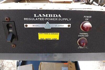Working Lambda Regulated Power Supply Lt-2095a