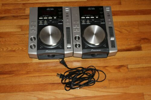 (2) Pioneer CDJ-200 DJ CD Players