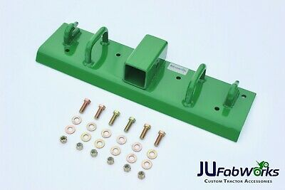 John Deere Compact Tractor Bolt On Grab Hooks Handles 2 Receiver All-in-one