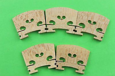 30 High Maple Wood (30pcs high quality Violin bridges maple wood 4/4 full size, Violin accessories )