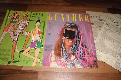 Gunther Kostüm (GÜNTHER MASKEN Sonderreihe # 556 -- KOSTÜME-FASCHING-KARNEVAL-FASTNACHT / 1960er)