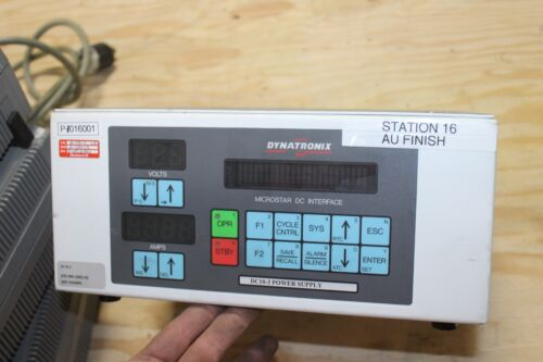 Dynatronix DC10-3 Pulse Power Supply With MicroStar