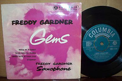 FREDDY GARDNER,  GEMS,  COLUMBIA RECORDS 1957  EX+