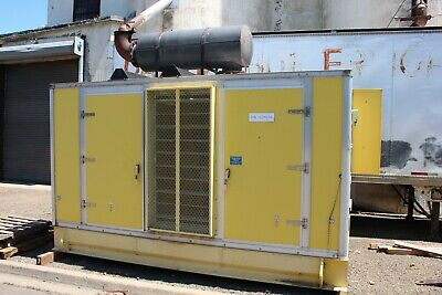Caterpillar Generator Set 500kw 625kva 60hz 3 Ph 480v 752a Cat V-12 Turbo Diesel