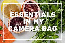 Five Essentials in My Camera Bag