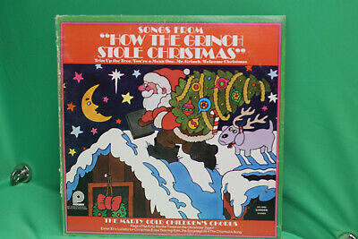 Songs From How the Grinch Stole Christmas - Marty Gold Children's Chorus ()