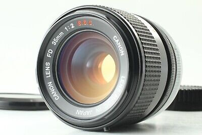 [ Near Mint RARE O ] Canon FD 35mm F/2 S.S.C. MF Wide Angle Lens SSC From JAPAN