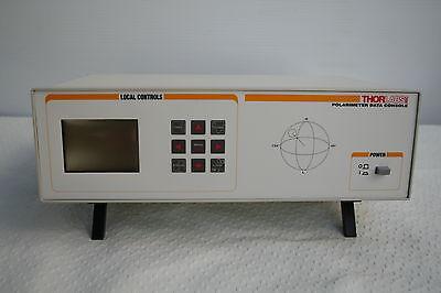 Thorlabs Pa530 With Polarimeter Data Console Fiber Fc