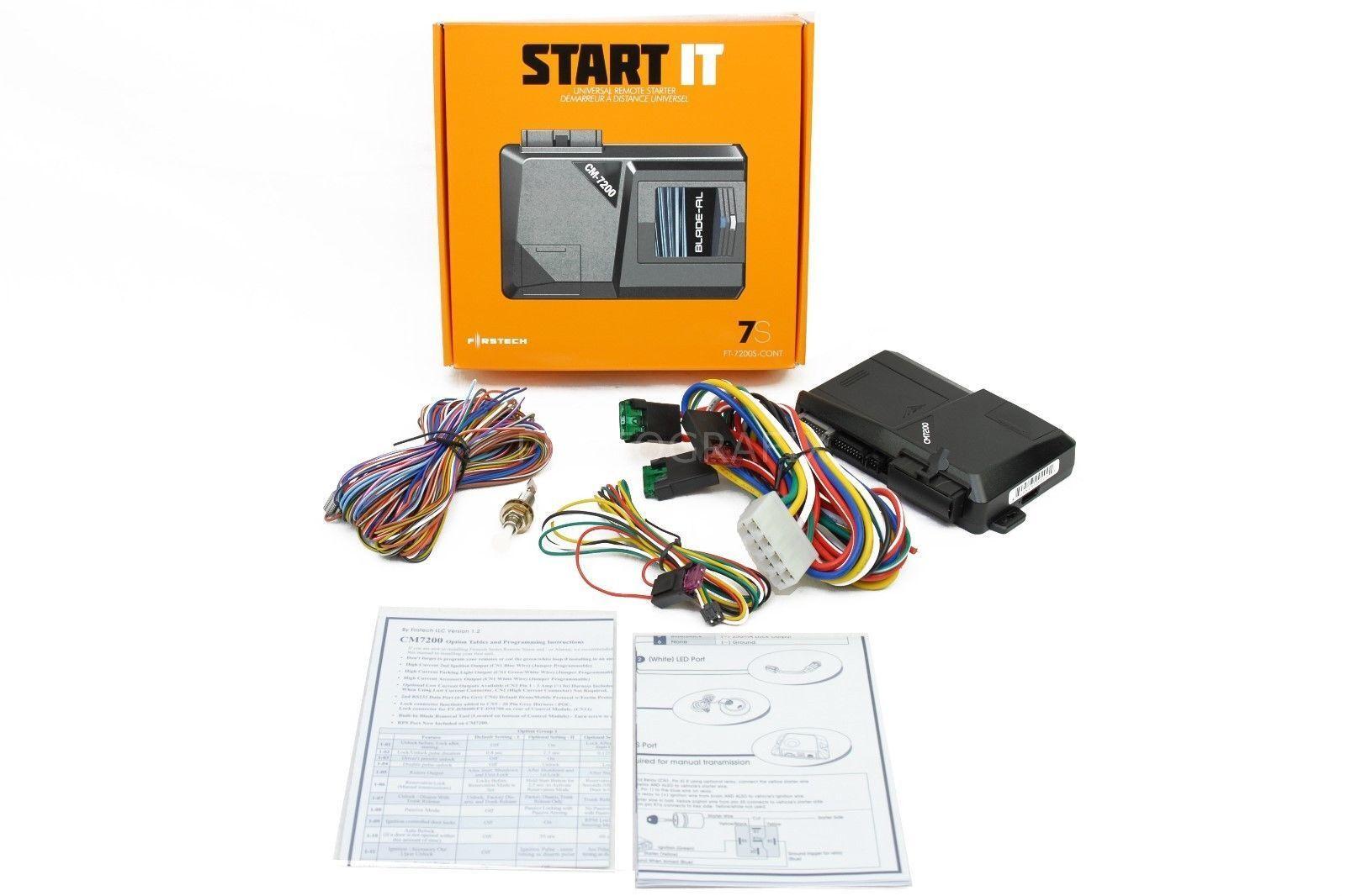 Compustar Ft7200ascont Universal Remote Start Keyless Entry Security 2012 Dodge Ram Starter Stock Photo
