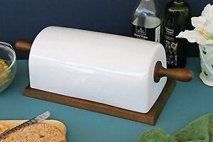 Ceramic Bread Box Ebay