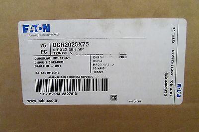 Eaton Cutler Hammer Qcr2020 Duplex Din Rail Mount 2 Pole 20 Amp Sold Per Each
