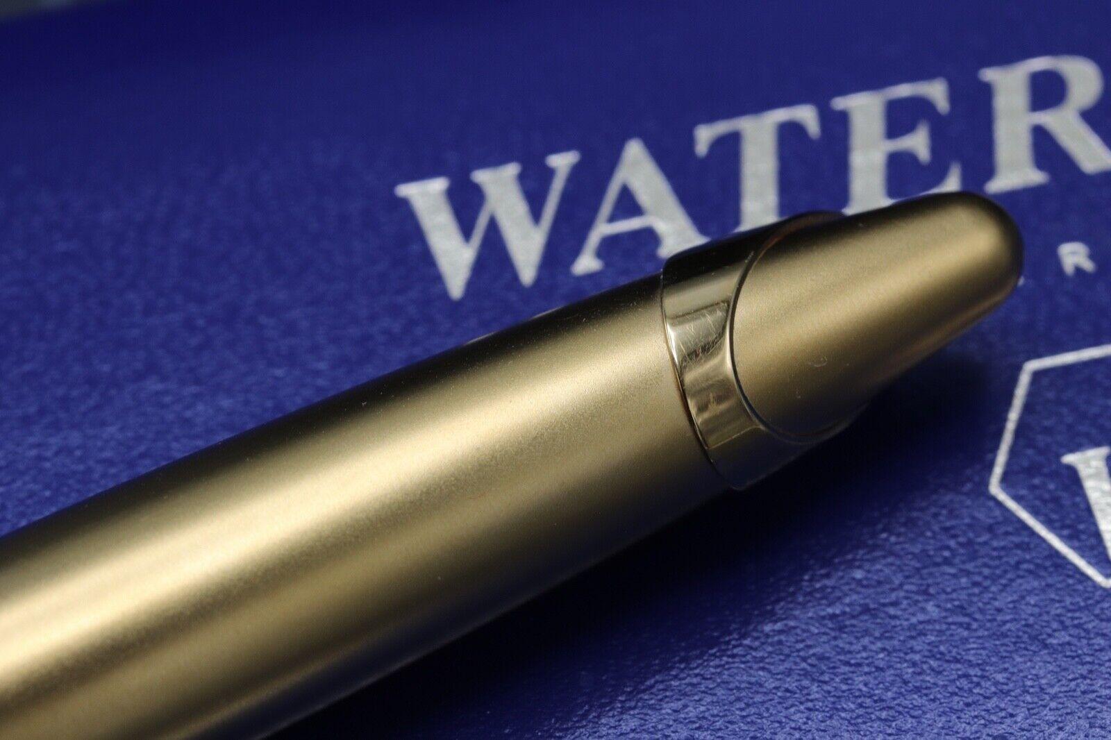 Waterman Edson Sapphire Blue Ballpoint Pen 4