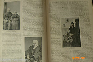Victorian Centenarians Old Age People Longevity Family History Geneology 1895