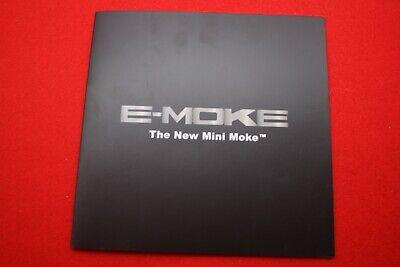 MOKE International Car Range Prospekt * E-Moke * Paris 2018 Brochure Folder