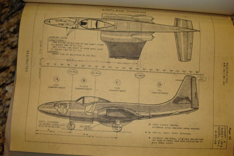 MCDONNELL FH-1 REPORT..DATED 1948..