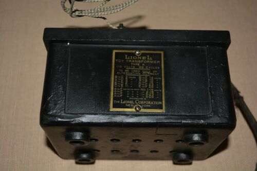 Lionel Prewar Electric Toy Train Model Accessory Early K Transformer Standard Ga