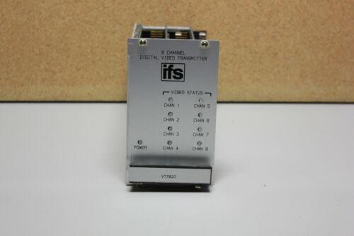 IFS VT7820-r3 8-channel Digital Video Transmitter