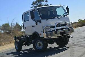 Hino 817 - 300 Series 4x4 Crew Cab Cab chassis Regency Park Port Adelaide Area Preview