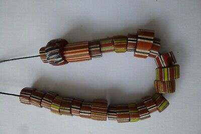 ANTIQUE  AFRICAN TRADE BEADS
