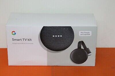 GOOGLE HOME MINI AND CHROMECAST SMART TV KIT