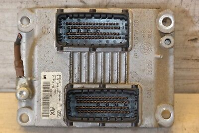 Vauxhall Corsa ECU Unit 24443796 Corsa 1.2 Petrol Engine Control unit 2002