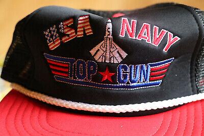 USA Navy Top Gun Snapback Cap von Life Line – Vintage
