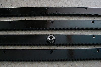 Cnc Stepper Motor Mech Rack Gear 96 Rack 4-24 Pcs A 15t 8mm Pinion Gear