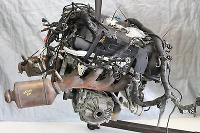 05 CADILLAC STS 46L AWD ALL WHEEL DRIVE ENGINE W FRONT DIFFERENTIAL  MANIFOLD